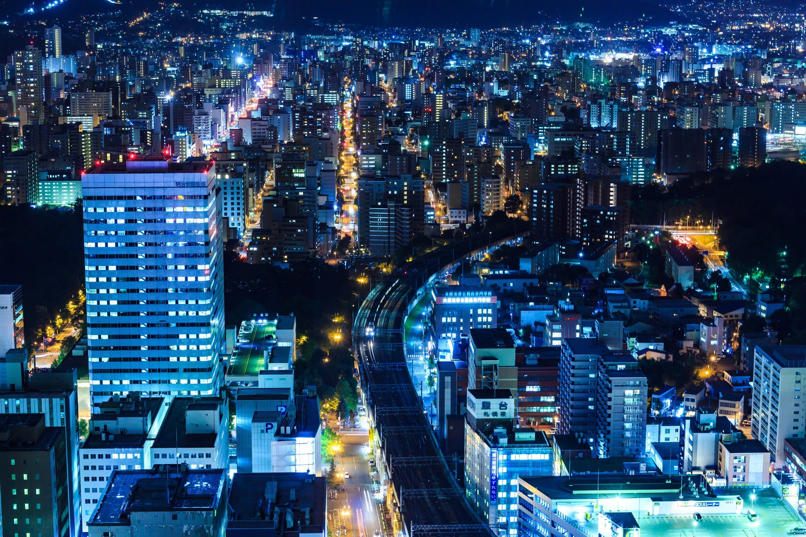 北海道の街並み