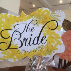 結婚式場の装飾品
