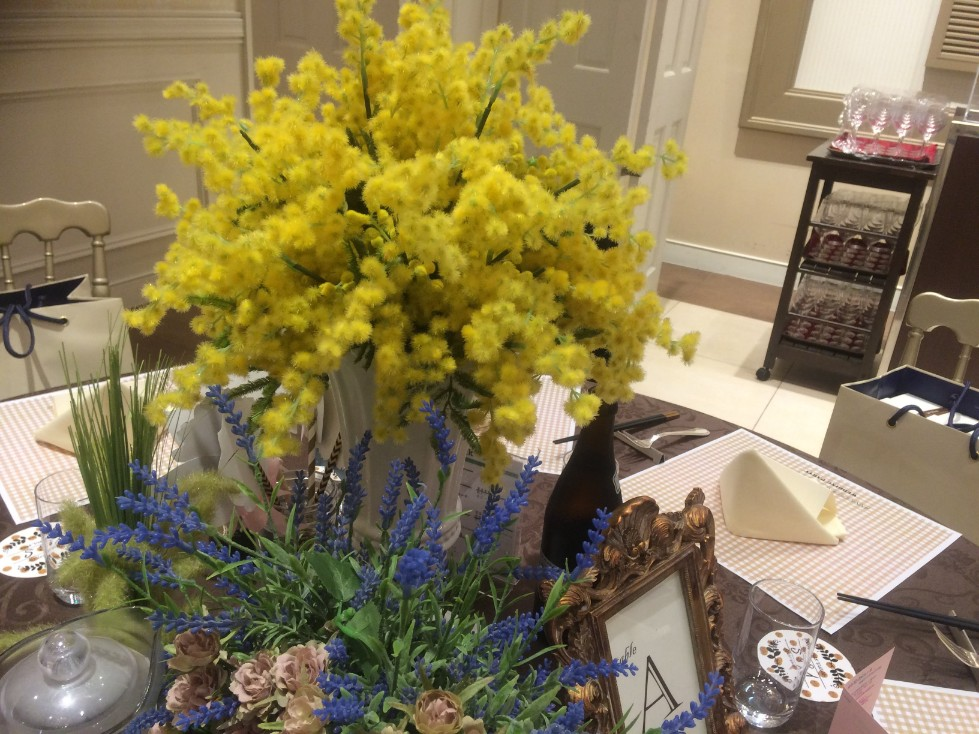 結婚式場の披露宴_テーブル装花