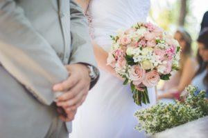 結婚式の新郎新婦の挨拶