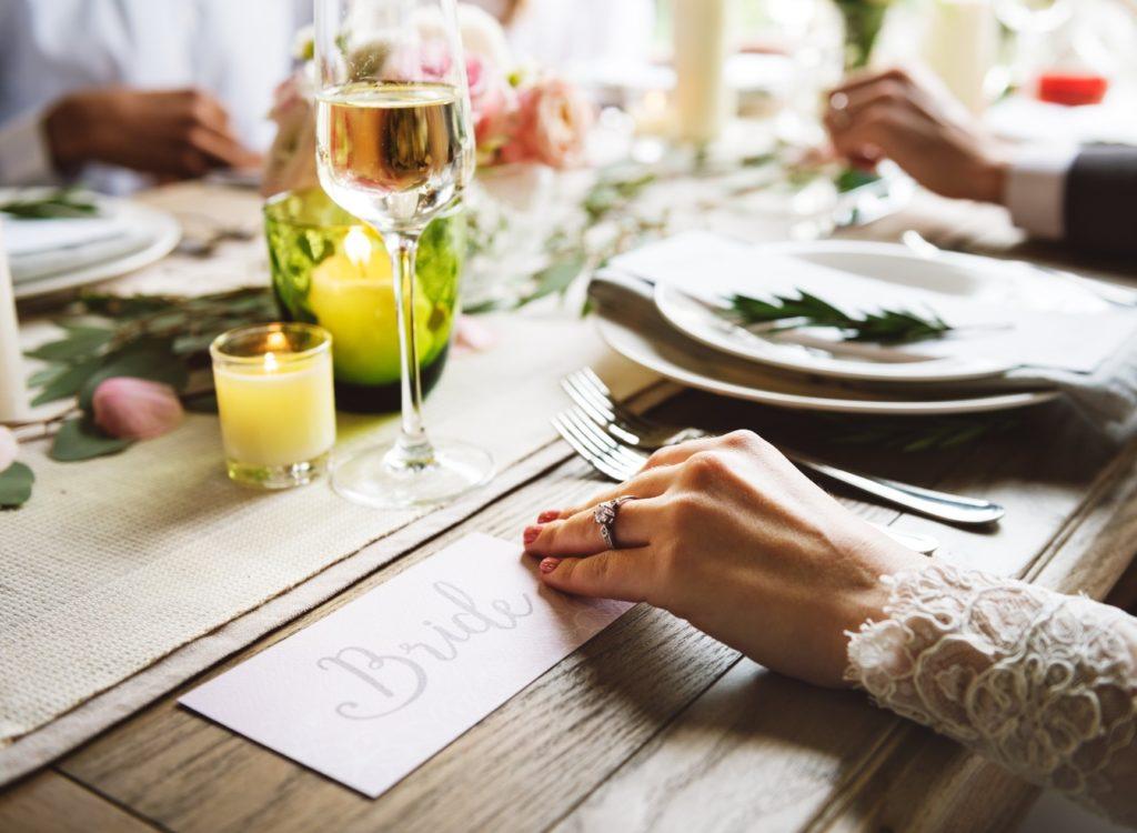 結婚式のお食事会