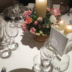 結婚式のゲストテーブル
