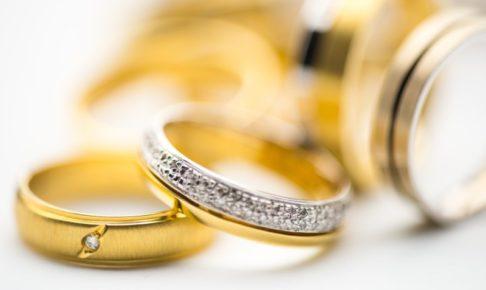 結婚指輪_ゴールド