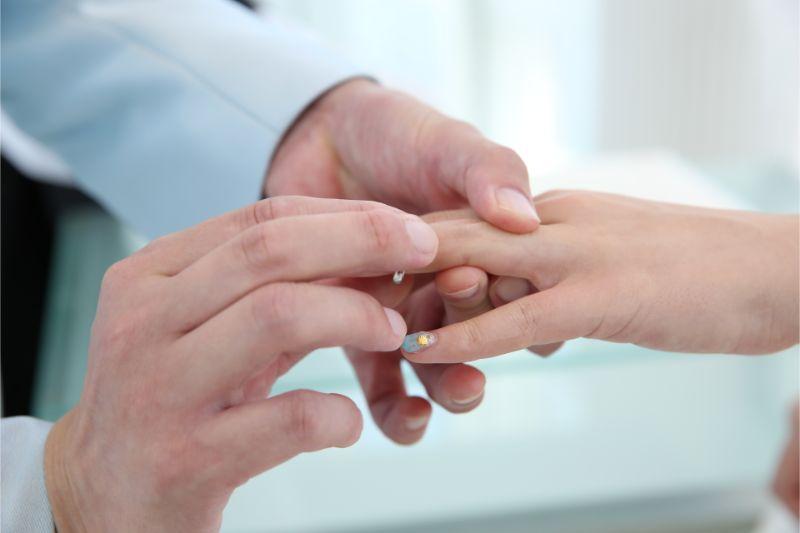 結婚式_指輪交換