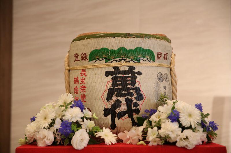 結婚式_日本酒_樽