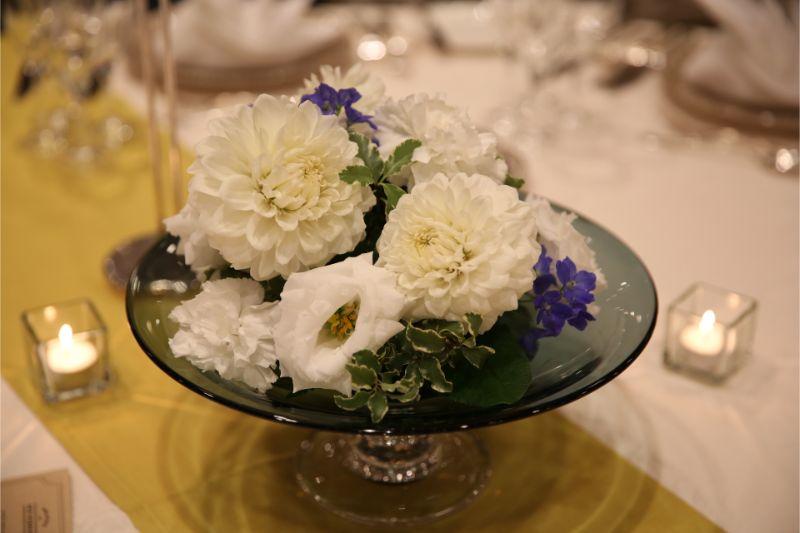 結婚式_ゲストテーブル_装花