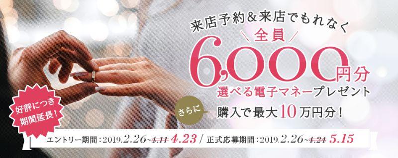 マイナビウエディング_キャンペーン_2019春の指輪探し延長