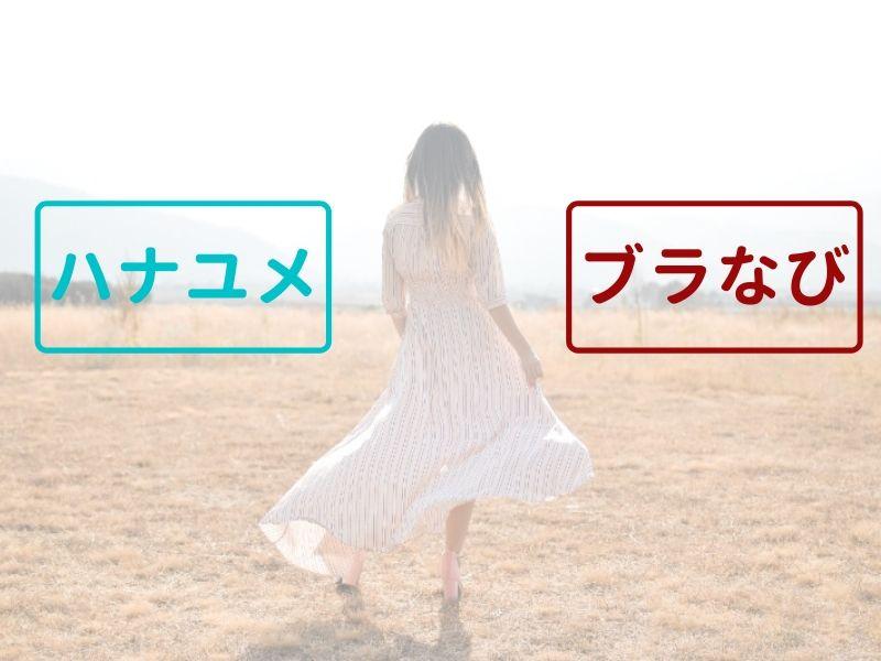 ハナユメ_ブラなび_比較top