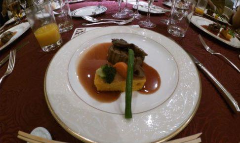 結婚式の料理