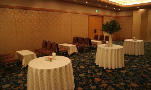結婚式場の待合ルーム