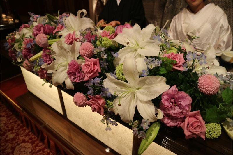 結婚式のメインテーブル